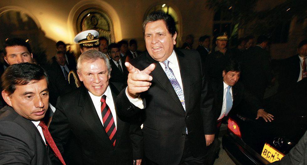Dúo dinámico. El segundo gobierno de Alan García coincidió en tiempo con la segunda gestión municipal de Luis Castañeda. (GEC)
