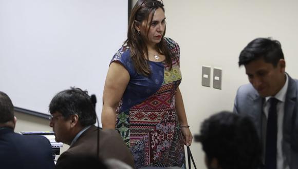Giselle Zegarra es investigada por los presuntos delitos de tráfico de influencias, colusión agravada y asociación ilícita para delinquir (Foto: GEC)