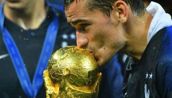 Antoine Griezmann anotó 4 goles en el Mundial Rusia 2018. (AFP)
