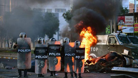 La falta de gasolina había virtualmente paralizado el transporte público. (Foto: AFP)