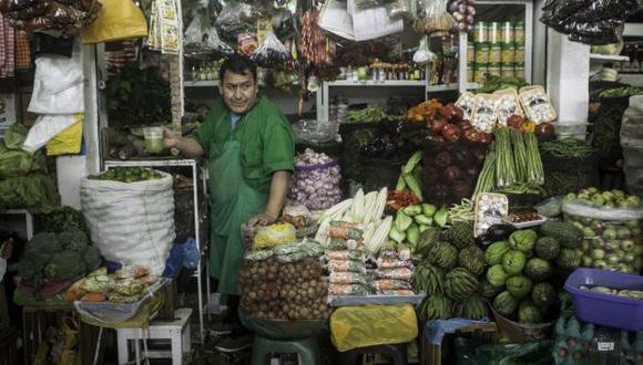 Productos más sensibles. Los alimentos serían los más afectados por las lluvias. (USI)