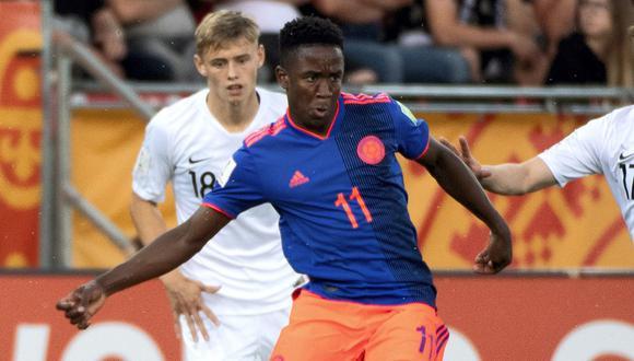 Selección Colombia busca su boleto a semifinales del Mundial Sub 20. (Foto: EFE)