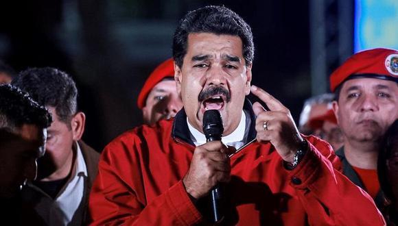 """Maduro celebró la respuesta de """"apoyo y comprensión"""" que, según dijo, dieron los caraqueños ante este hecho que trastocó la vida de los seis millones de personas. (Foto: AFP)"""