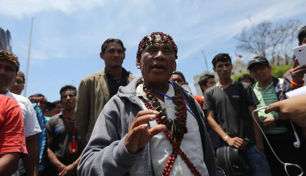 Aún no hay acuerdo entre líderes amazónicos y el Ejecutivo. (Anthony Niño de Guzmán/Perú21)