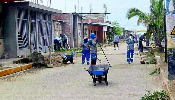 Arequipa: Defensoría pide dar a trabajadores de limpieza pública implementos contra el COVID-19 (Foto referencial).