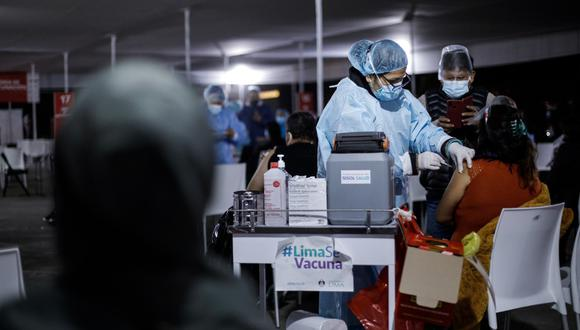 El equipo de trabajo venía apoyando el proceso de vacunación a nivel nacional.  (Fotos: Joel Alonzo/@photo.gec)