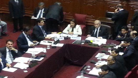 Comisión de Fiscalización debate cobertura de Nadine. (Carlos Castillo)