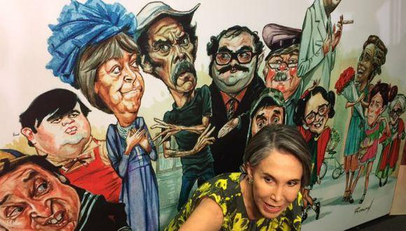 """""""Roberto abarcó muchas manifestaciones del arte, entre ellas la caricatura"""", dijo Florinda Meza. (@FlorindaMezaCH)"""