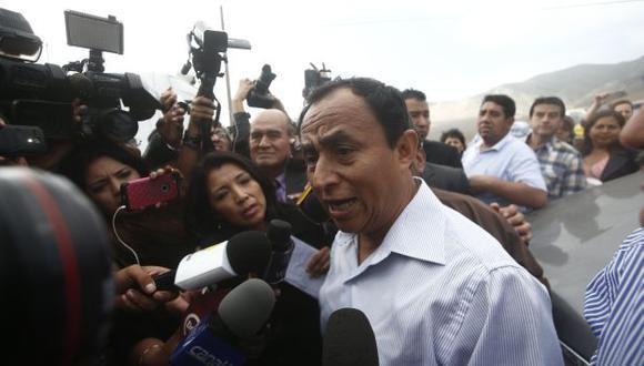 Gregorio Santos promueve su candidatura. (Perú21)