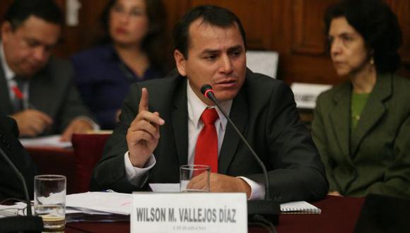 RELACIONES PELIGROSAS. Sus nexos con Gregorio Santos le siguen pasando factura a Wilson Vallejos. (Rodrigo Málaga)