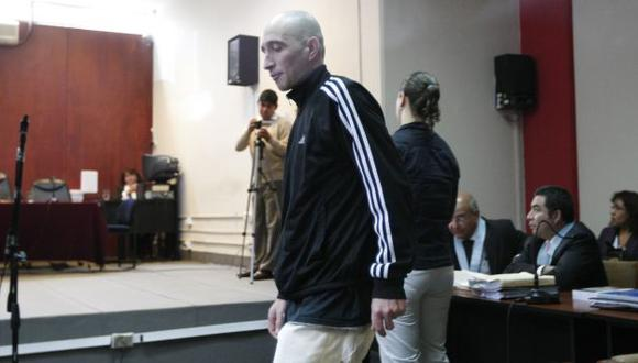 ESTRATEGIA. Fiscalía ha solicitado 35 años de prisión para sicario. (Luis Gonzáles)