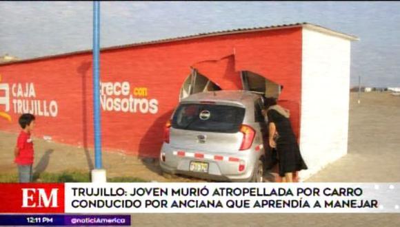Accidente Trujillo.
