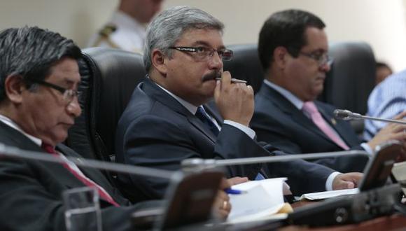 EN SUSPENSO. La Comisión de Fiscalización continuará interrogatorio a Contreras la próxima semana. (César Fajardo)