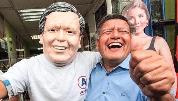 César Acuña estuvo en Moyobamba como parte de su gira de campaña. (Trome/Referencial)