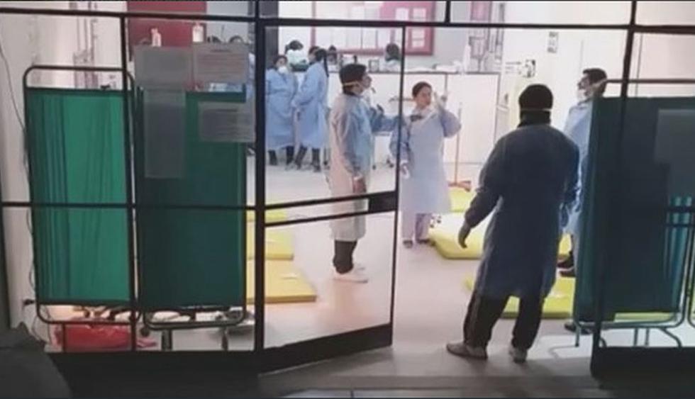 Centro de salud del distrito de San José de Ushua atiende a heridos.