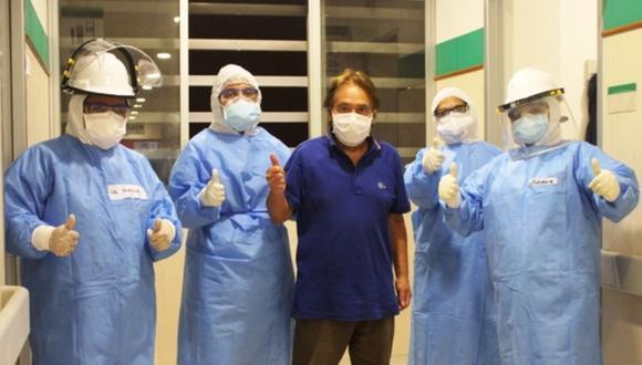 ¡Buenas Noticias! Cifra de recuperados por COVID-19 superó a la de contagios. (Foto: hospital de Ate Vitarte)