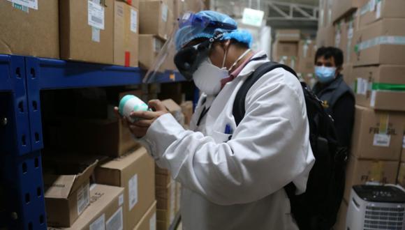 El destino de los productos sería los mercados negros de la venta de medicinas, como Paruro y Capón Center. (Municipalidad de Lima)