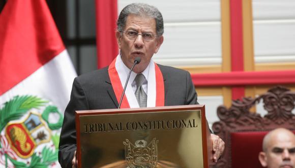 Óscar Urviola saludó elección de magistrados. (USI)