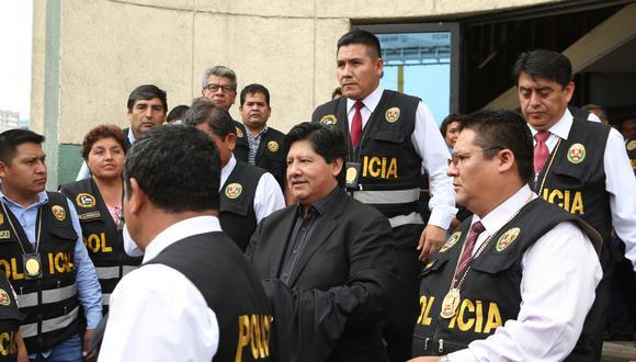 Oviedo está internado en el penal de Picsi por el caso Wachiturros. (GEC)