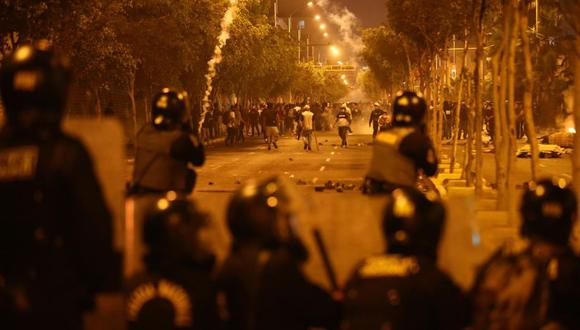 La Policía indicó que garantizará el derecho a la protesta de los ciudadanos y que solo hará uso racional de la fuerza en casos estrictamente necesarios. (Foto: GEC)