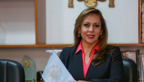 Portocarrero fue vicedecana del CAL bajo la presidencia de Mario Amoretti (2014-2015). (Difusión)