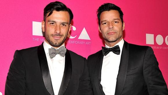 Ricky Martin y la polémica foto que su novio, Jwan Yosef, compartió en Instagram. (John Sciulli/Getty)