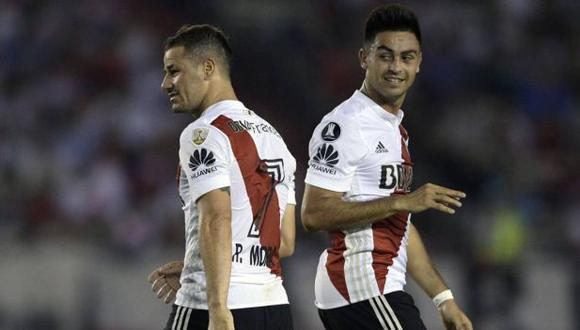 River Plate vs. Belgrano chocan en el Monumental por la fecha 2 de la Superliga argentina. (Foto:AFP)