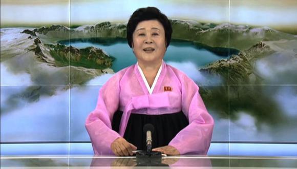 En una entrevista en el 2012 a la cadena estatal china CCTV, Ri dijo que quería ayudar a formar a la próxima generación de radiodifusores norcoreanos. (AFP)