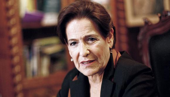 Susana Villarán de arriba a abajo. (GEC)