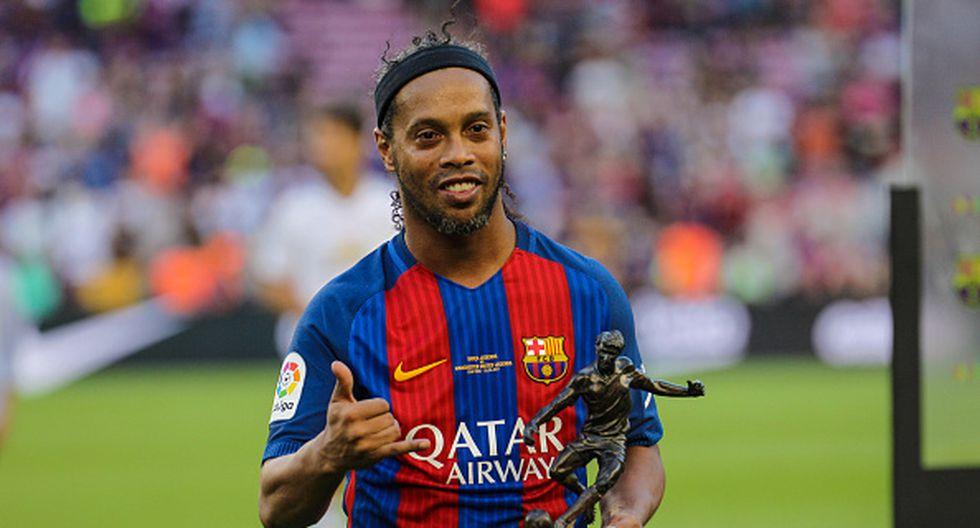 Ronaldinho fue le mejor jugador del mundo en el 2005. (Getty Images)