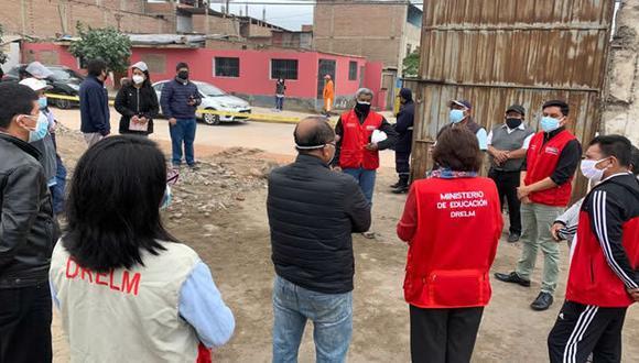 Dos colegios sufrieron daños en Cañete y San Juan de Miraflores. (Foto: Minedu)
