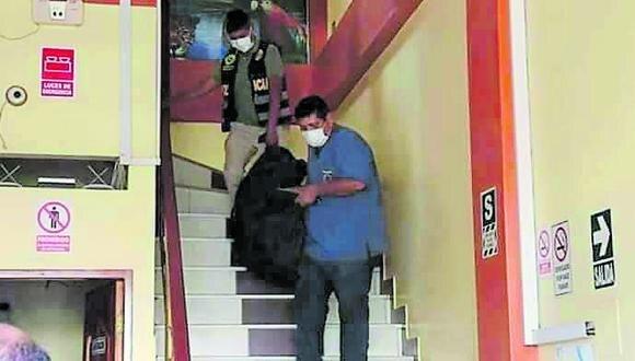 Madre de Dios: representante del Ministerio Público llegó al hotel para realizar el levantamiento del cadáver de la menor. (Foto: GEC)