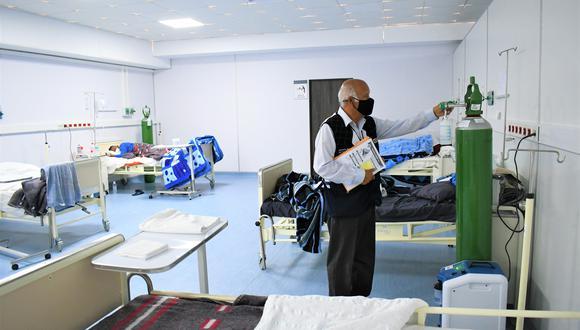 El lunes aperturan el ambiente de hospitalización temporal (Foto: Gore Lambayeque).