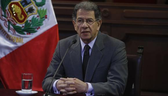 Urviola dijo que tiene comunicación directa con el titular del PJ, Enrique Mendoza. (USI)