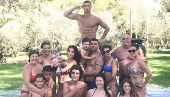 Cristiano Ronaldo tiene tres hijos. (Instagram/Cristiano Ronaldo)