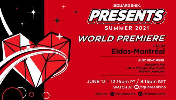 La compañía japonesa ya puso fecha y hora a su presentación en el evento.