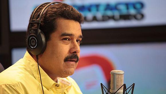 Maduro calificó el 7-1 de Alemania sobre Brasil como una tragedia futbolística. (EFE)
