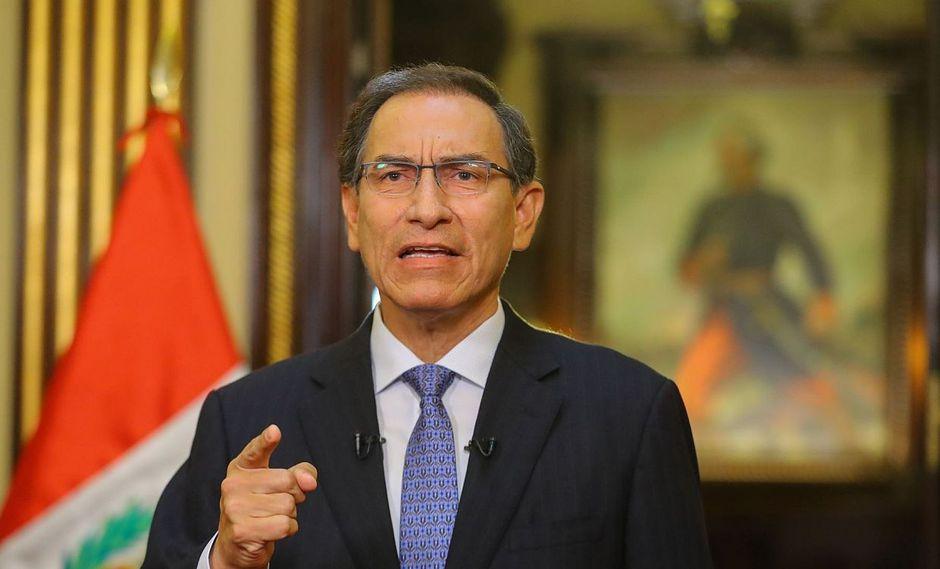 El presidente de la República, Martín Vizcarra, señaló que la reforma política permitirá cambios largamente postergados en el Perú. (Foto: GEC)