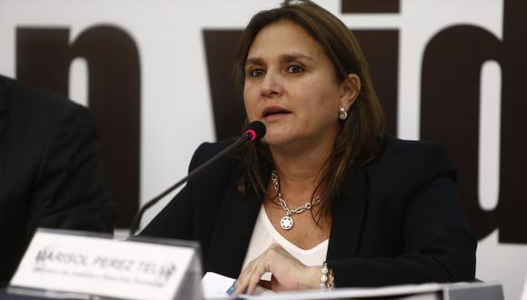 Pérez Tello descartó que fuera un error haber delegado a Julia Príncipe como presidenta del CDJE. (Renzo Salazar)