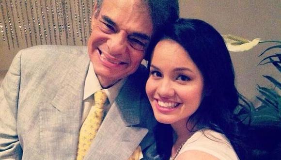 José José: Sara Sosa, hija del Príncipe de la canción, se lanza como cantante. (Foto: @sarasosa)