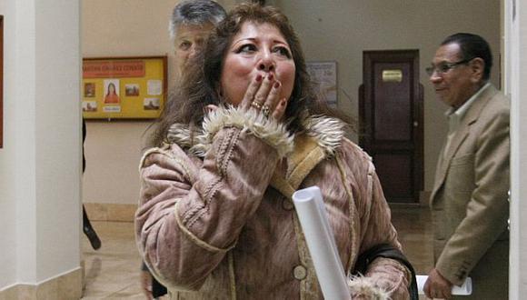 Acusan a la congresista Celia Anicama de interferencia. (Nancy Dueñas)