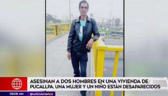 El crimen ha causado conmoción en Pucallpa. (Foto: Captura/América Noticias)