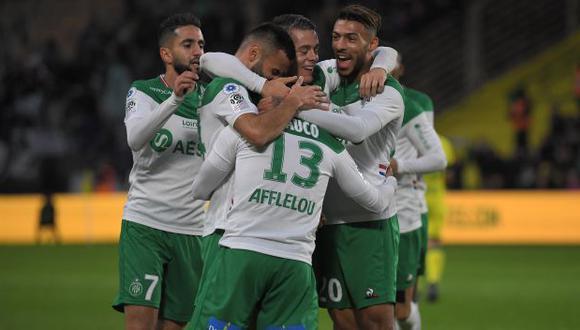 Miguel Trauco formó parte de la reanudación de entrenamientos de Saint-Étienne. (Foto: AFP)