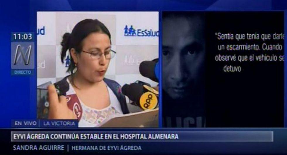 Eyvi Ágreda: Familia de la joven pide la pena máxima para Carlos Hualpa Vacas