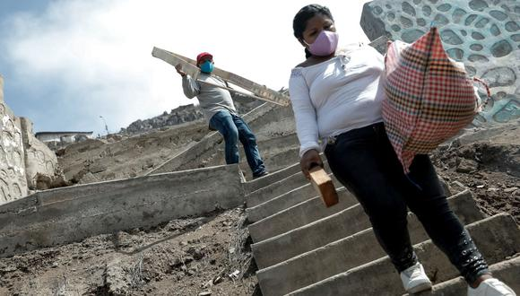 En comparación con 2019, el año pasado unos 108 millones de trabajadores más en el mundo han sido recalificados como pobres o muy pobres. (Foto: Miguel Yovera / GEC)