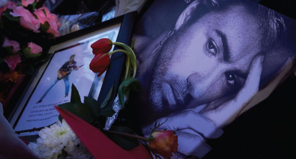 El cantante George falleció por causas naturales.  (AFP)