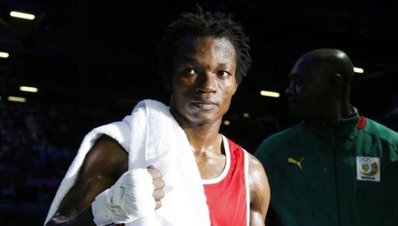 El boxeador Essomba. (Internet)