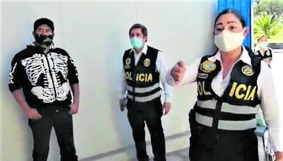 Las autoridades detectaron que varios de sus contactos lo apoyaban para romper la cuarentena y efectuar saqueos.