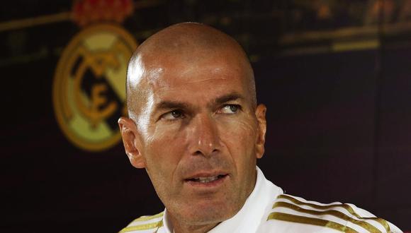 Zinedine Zidane llegó al Real Madrid en marzo del 2019 para cumplir su segunda etapa en el cuadro blanco. (Foto: EFE)