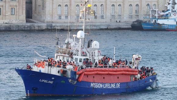 """A la vez, el mandatario francés calificó de """"victoria"""" el acuerdo alcanzado por el Consejo Europeo sobre sobre los inmigrantes. (Foto: EFE)"""